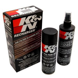 K&N Filtercleaner en olie recharger set