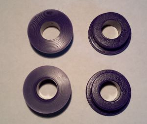 Motorsteunrubbers  poly