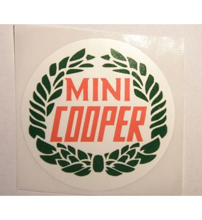 Sticker 50mm Cooper laurel