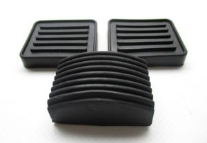 Pedaal rubber set